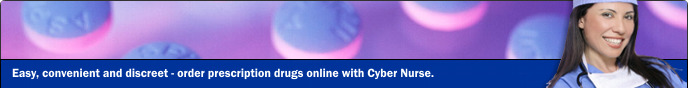 Cyber Nurse - Easy, convenient and discreet - order prescription drugs online with Cyber Nurse.